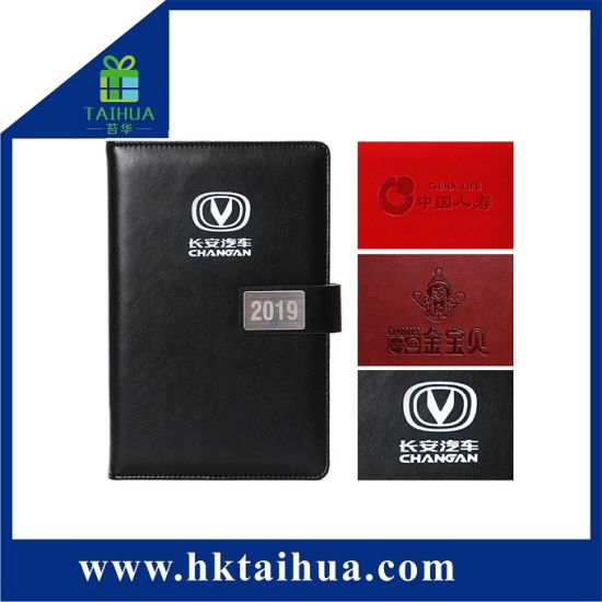 2019 New Customized Gift Office Supply A5 PU Cover Notebook with Magnetic Snap