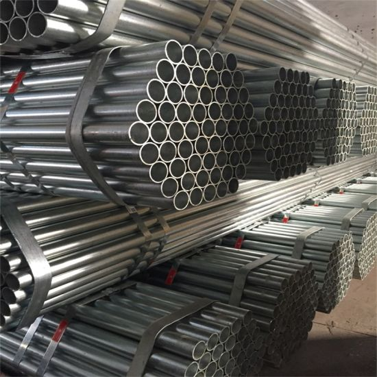 Gi Steel Pipe Corrugated Galvanized Steel Pipe Iron Pipe Price pictures & photos