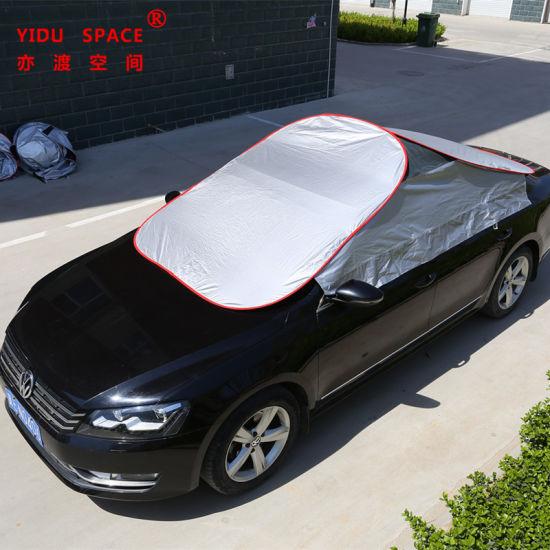 Car Decoration Window Sun Shade Car Accessories Sunproof Sunshade Half Roof Fast Folding Auto Car Cover