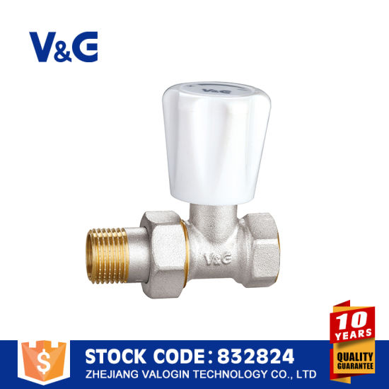 Solar Water Heater Brass Radiator Valve (VG-K14131) pictures & photos