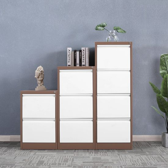 Luoyang Steel Office Hanging File Cabinet / Office Metal 4 Drawer File Cabinet