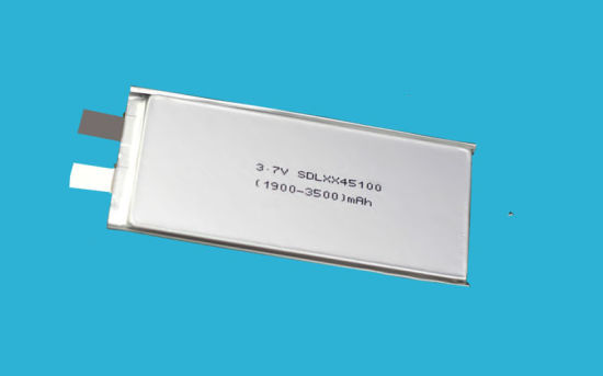 3300mAh 3.7V Lithium Polymer Battery Safe Long Cycle Life pictures & photos