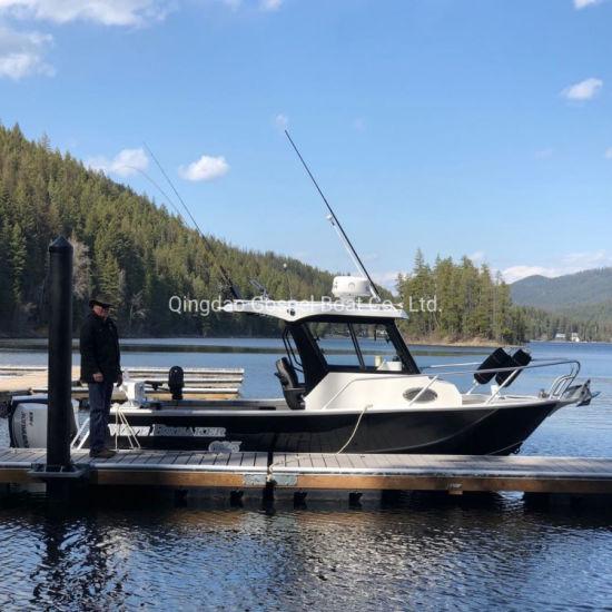 6.5m Sea Boat Aluminum Fishing Boat Luxury Motor Yacht