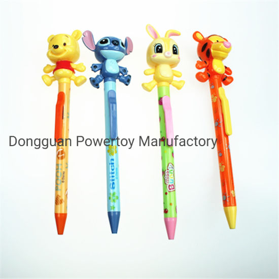 Promotional Custom Logo Ball Pen with Cartoon Shape, Multifunction pictures & photos