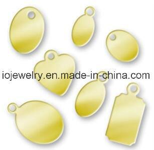 Custom Engraved Small Logo Jewelry Bracelet Tags