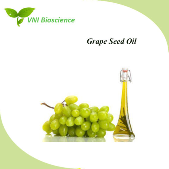 ISO SGS Certified 100% Natural Grape Seed Oil for Improve Immunity