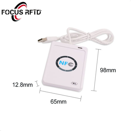 USB NFC RFID Reader for Payment/Access Control/Transporation