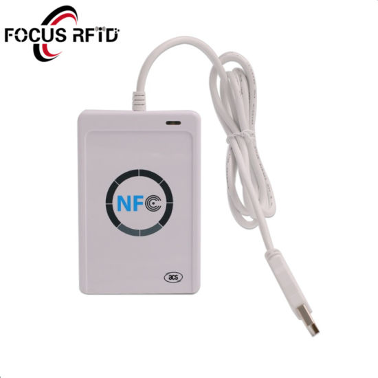 NFC Reader with 13.56MHz Smart Card for Phone Device