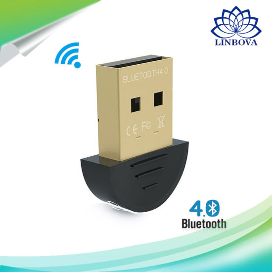Mini USB Bluetooth Adapter V 4.0 Dual Mode Wireless Dongle CSR 4.0 for Win7 /8/XP 25 pictures & photos