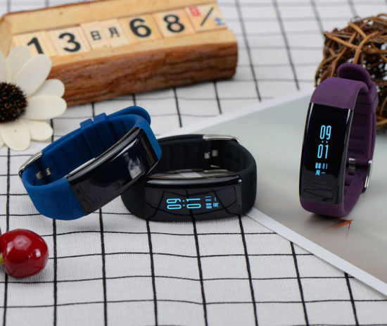 Blood Pressure Monitor Smart Bracelet pictures & photos