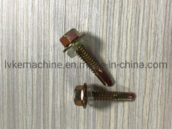 Hardware Fastener Hex Head Self-Drilling Screw/Flange Head Self Drilling Screw pictures & photos