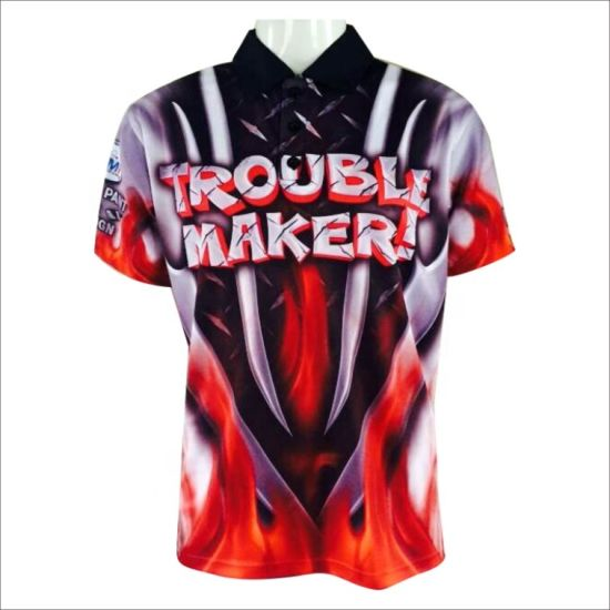 New Customized Pit Crew Jersey Custom Sublimated Pit Stylish Crew Racing Design Shirts for Men pictures & photos