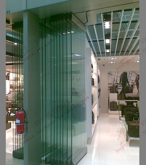 China High Quality Movable Frameless Glass Partition Door (BHA-DBF20 ...