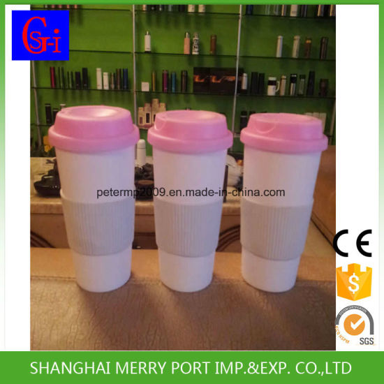 Eco-Friendly Free Sample 500ml 18oz Plastic Mugs pictures & photos