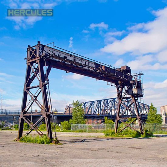 High Perfermance Heavy Duty Ship Building Double Girder Gantry Crane pictures & photos
