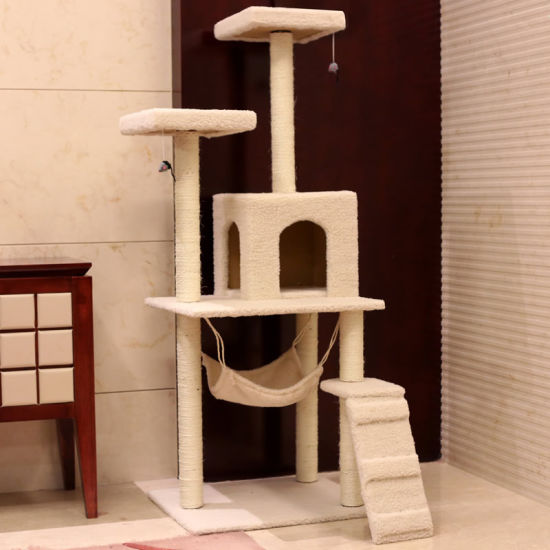 Pets Cat Climbing Frames Toys Interactive Mascotas Shelves Cat Tree Interesting Supplies Products for Kittens Cat
