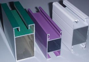 Aluminum Powdecoated Profiles pictures & photos