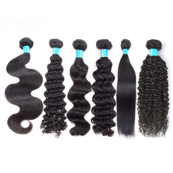 Virgin Remy Human Hair Extension, Virgin Curl Human Hair Weaving
