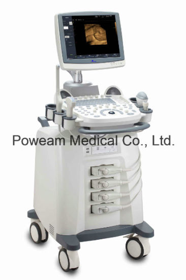 Mobile Type 4D Color Doppler Ultrasound System pictures & photos