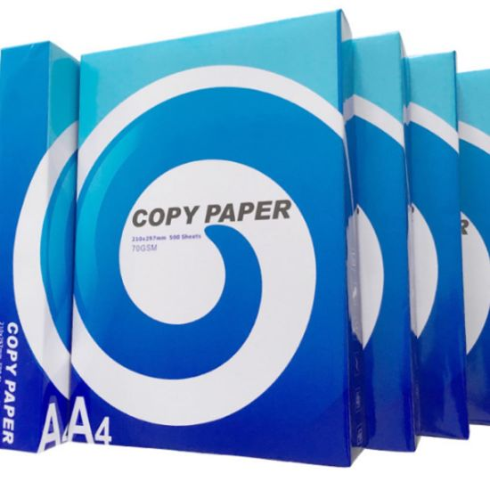80GSM A4 Copy Paper for Bank Usage