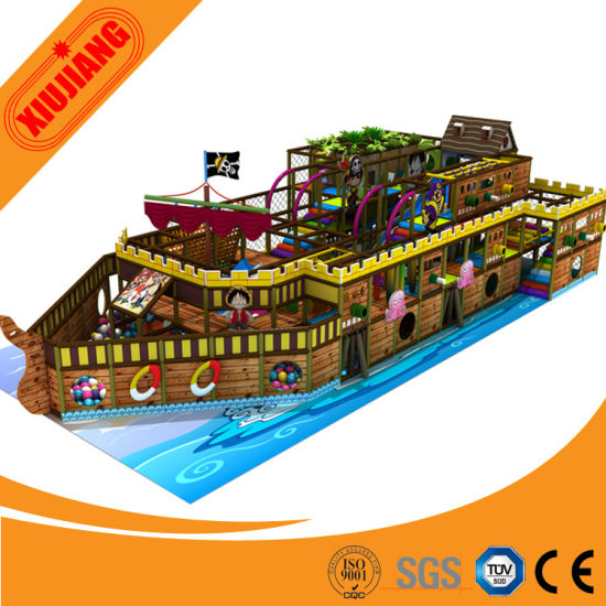 Top Quality Indoor Kids Commercial Park Pirate Ship Playground pictures & photos