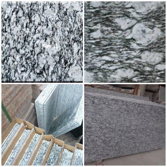 Wholesale Tiles spray White Spoondrift White Sea Wave White Granite