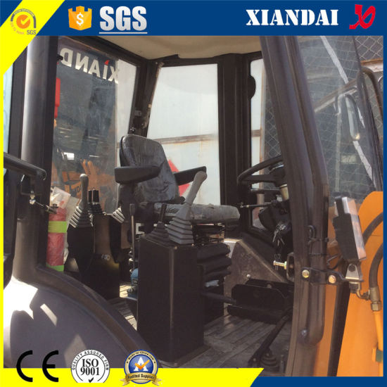 CE and SGS Approved Tier III Cummins Engine Backhoe Loader (4WD) Xd850 pictures & photos