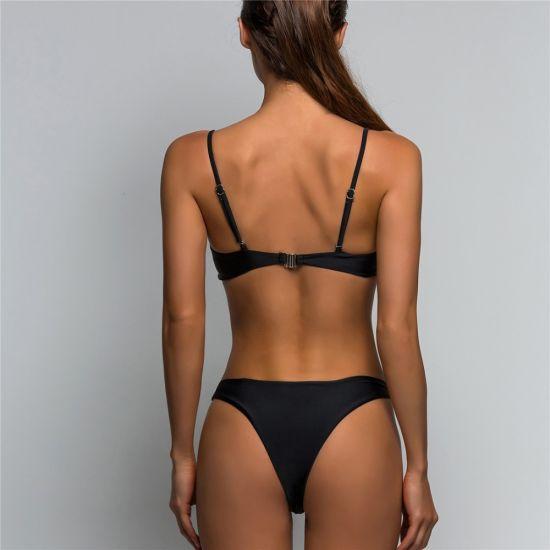 6dcf4bc2aa Sexy Sport Bikini Swimsuit Women Swimwear Two-Pieces Bikini Bathing Suit