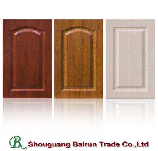 Pvc Kitchen Cabinet Doors: China Kitchen Furniture Parts PVC Vacuum MDF Cabinet Door