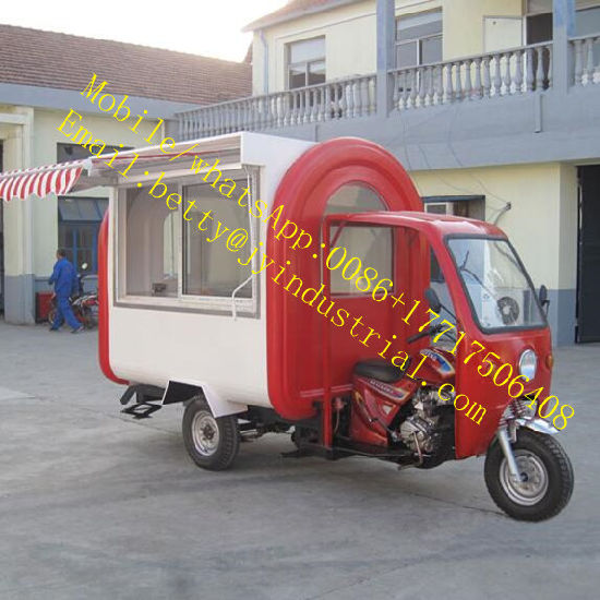 New Fashion Mini Electric Ice Cream Hot Dog, French Fries, Waffle, Sandwiches, Coffee Street Food Truck for Hot Sale