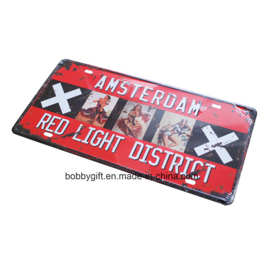 China Cheap Eco-Friendly Metal Nameplate for Promotion