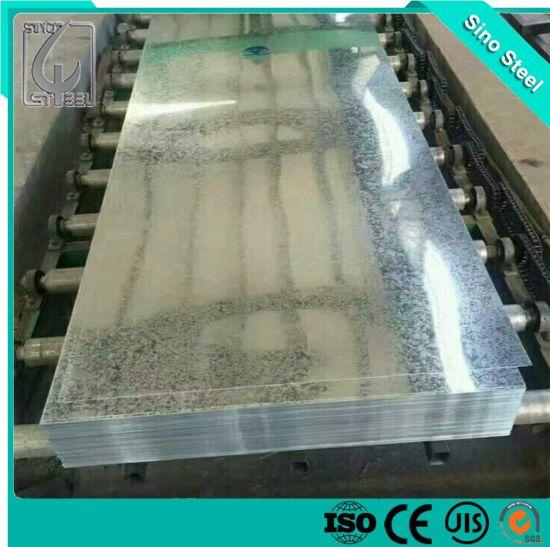 0.38mm ASTM A653 Grade Hot Dipped Galvanized Steel Sheet