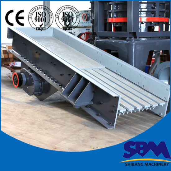 Sbm Low Price Easy Handling Mining Vibrating Feeder pictures & photos