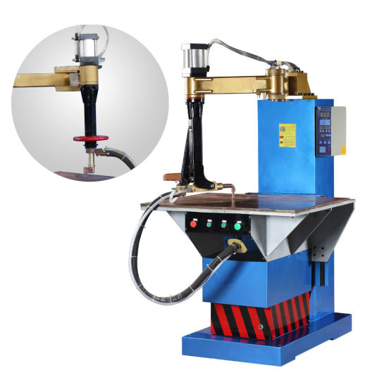 Table Spot Welding Equipment with Flexible Arm pictures & photos