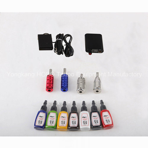 Cheap Products Supplies Tattoo Kits with Machine and Ink pictures & photos