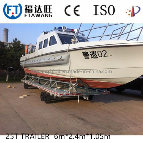 Galvanized Boat Trailer with Roller/China Jetski Trailer Supplier