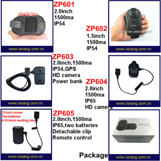 Body Worn Spy Dash Camera Wireless Police Video DVR pictures & photos
