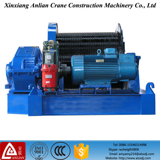 Jm Series Electric Control Slow Speed Winch