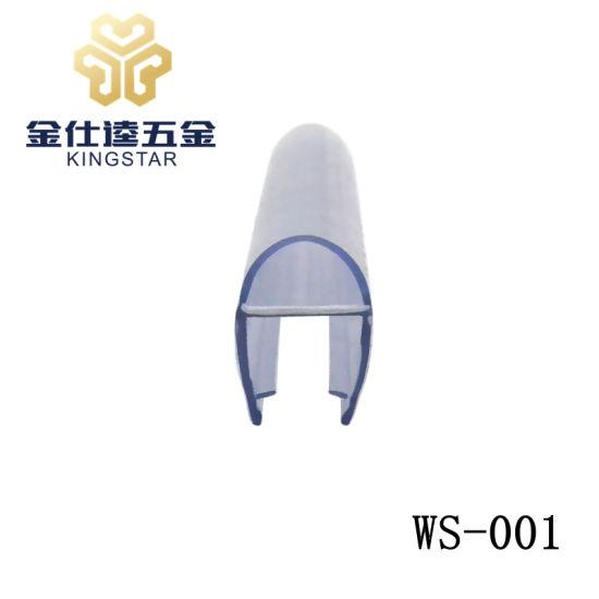 WS 001 Bathroom/Shower Glass Door Waterproof Weather PVC Strip Seal