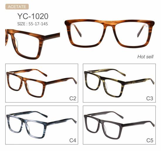 China Fashion Hot Selling New Design Acetate Eyeglasses Eyewear ...