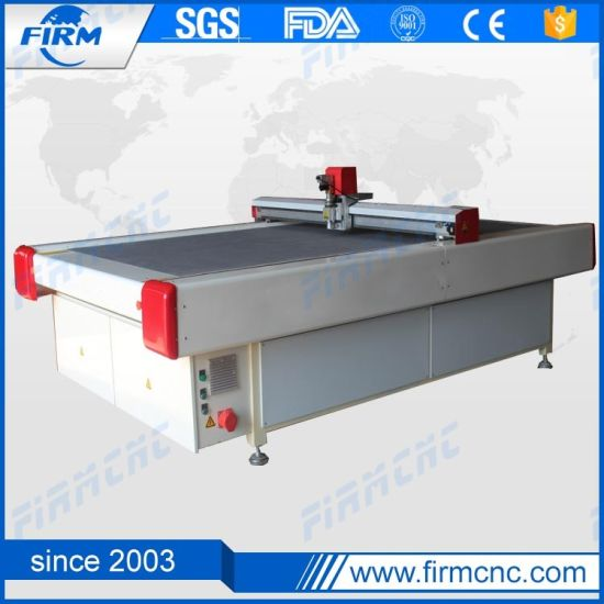 CNC Servo Motor Digital Oscillating Knife Cutting Machine