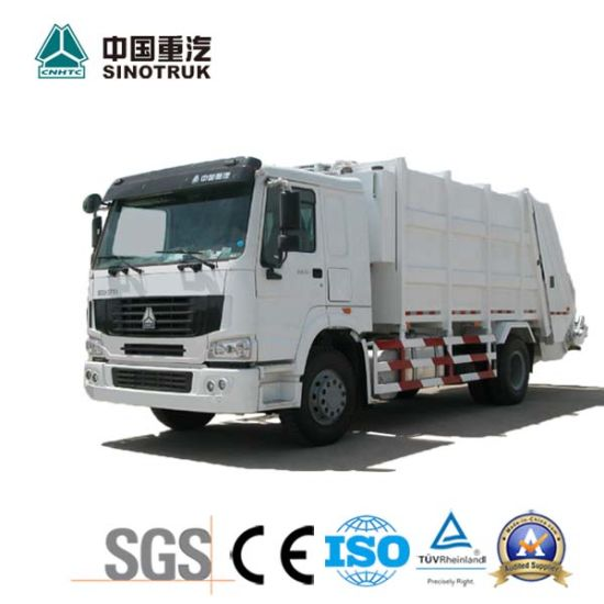 Best Price HOWO Garbage Truck of 15-20m3