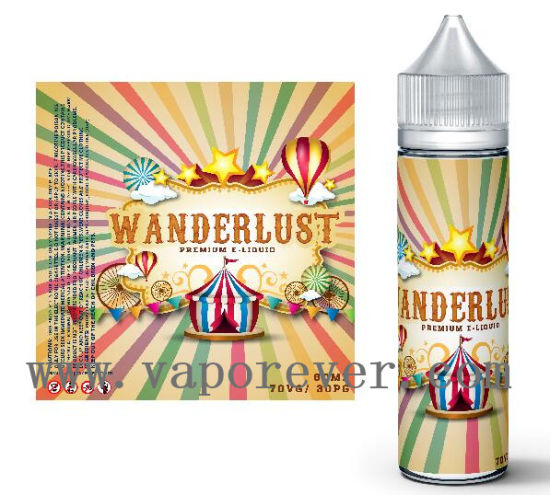 E Shisha Liquid Popular Cylinder Packaging E-Liquid