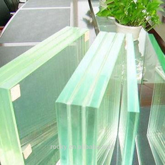 High Quality 4.0mm to 40mm Clear and Colored Laminated Tempered Glass for Window Fence Doors Rail and Floor Curtain Wall and etc.