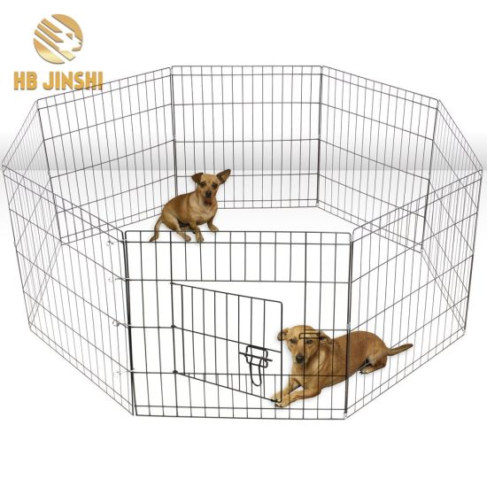 China 36′′ High 8 Panels Welded Wire Mesh Dog Crate Fence Panel Pet ...