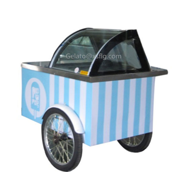 6 -8 Pan Ice Cream Cart for Sale pictures & photos