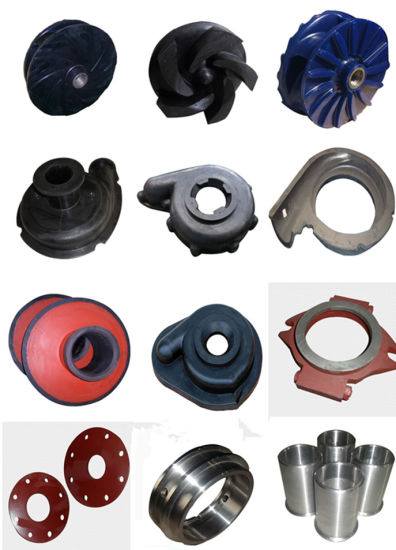 China Interchangeable Horizontal Ah Slurry Pump Rubber Parts - China