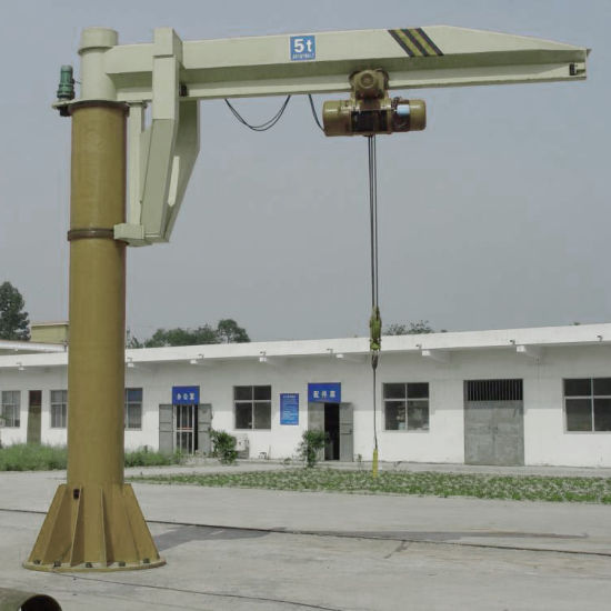 Zb-a Column Swing Level Crane pictures & photos