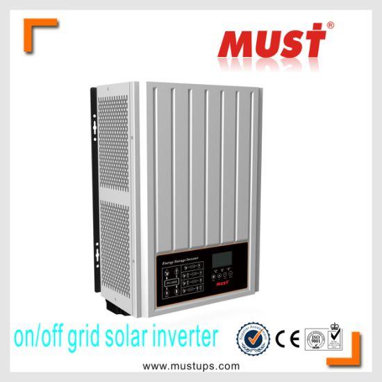 China Must Off Grid 220v 230v Hybrid Solar Inverter 1kva 5kva Grid Tie Inverter China Solar Inverter High Frequency Solar Inverter