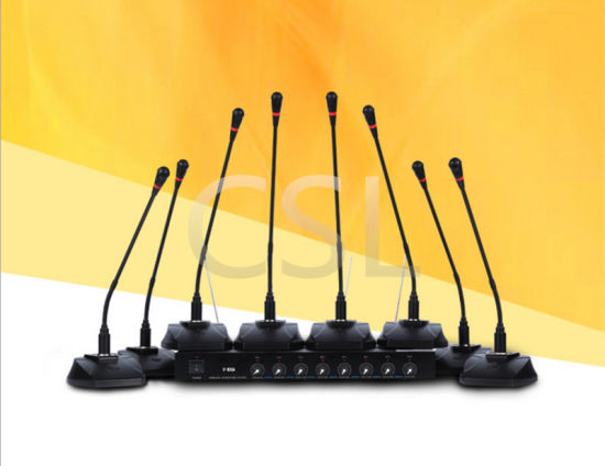Audio 8CH Gooseneck Wireless Conference Microphone for Conference System pictures & photos